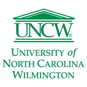 uncw cmyk teal logo stacked